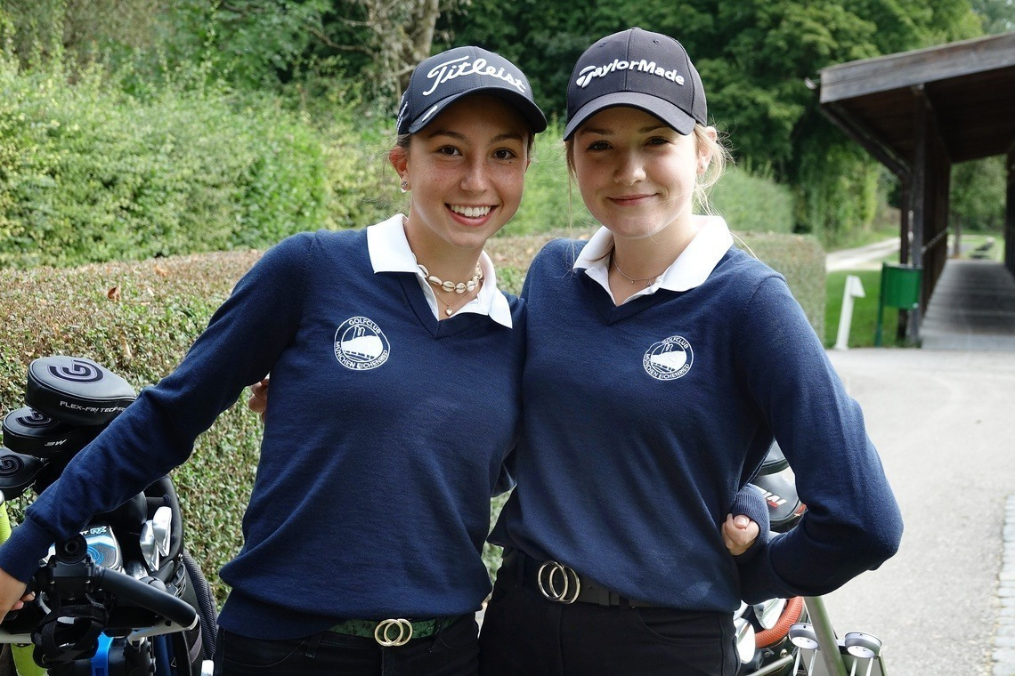 Fiona Rassl und Amelie Vaubel gewannen die Netto A-Wertung.