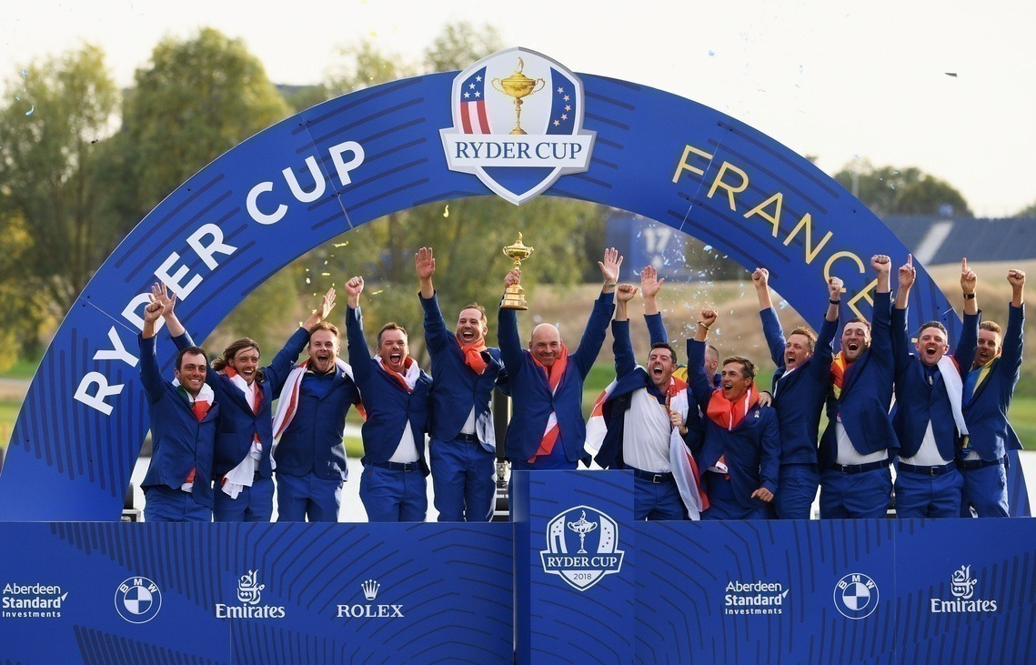 Ryder Cup Team Europa 2018
