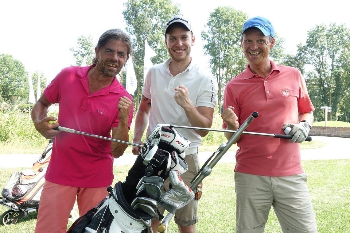 Spaß muss sein auf dem Golfplatz!