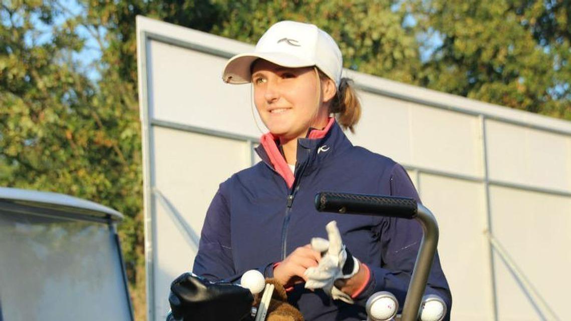 Glücklich über ihren Sieg in Österreich: Clara Goetz