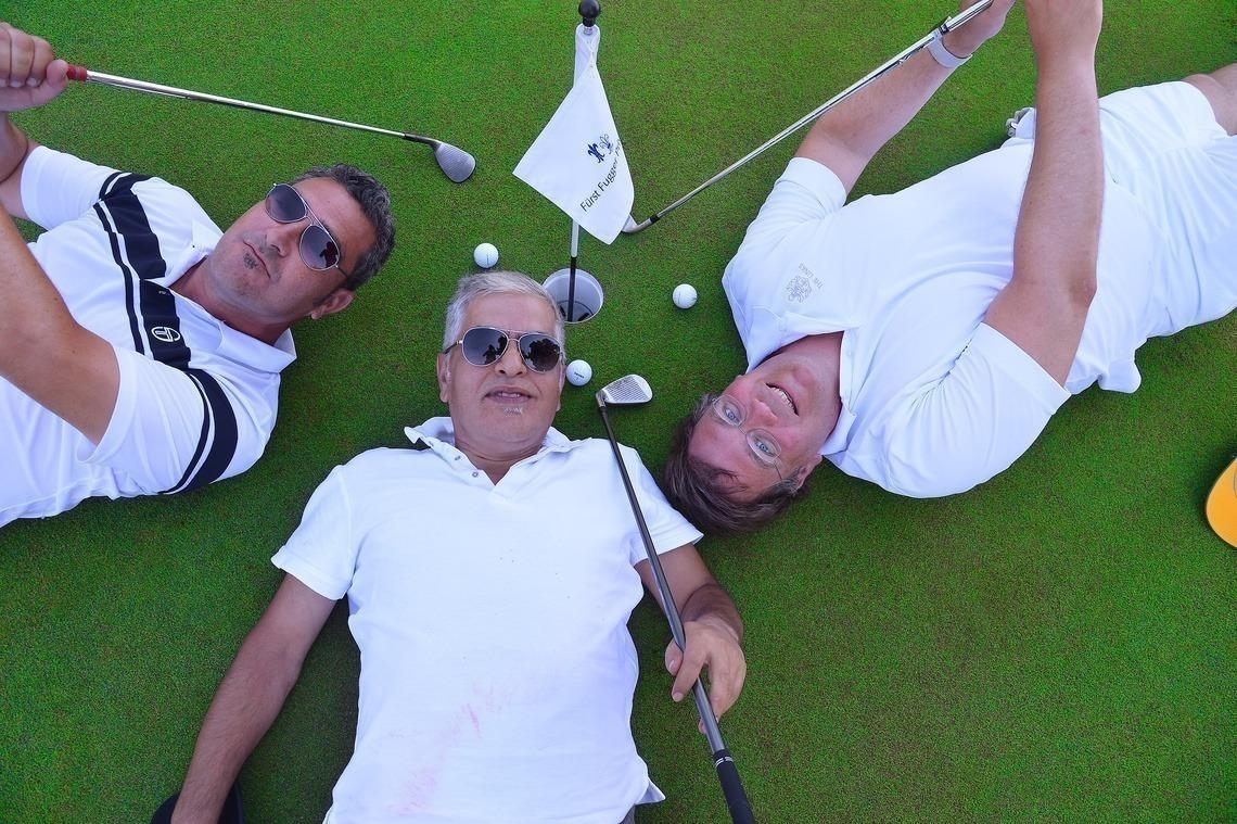 Ein Golftag zum Niederlegen