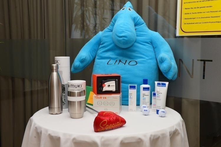 Pflegende und schützende Kosmetik-Preise von Turniersponsor Linola.
