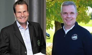 Ihre Ansprechpartner: Geschäftsführer Wolfgang Michel und  Sportmanager Harald Lang