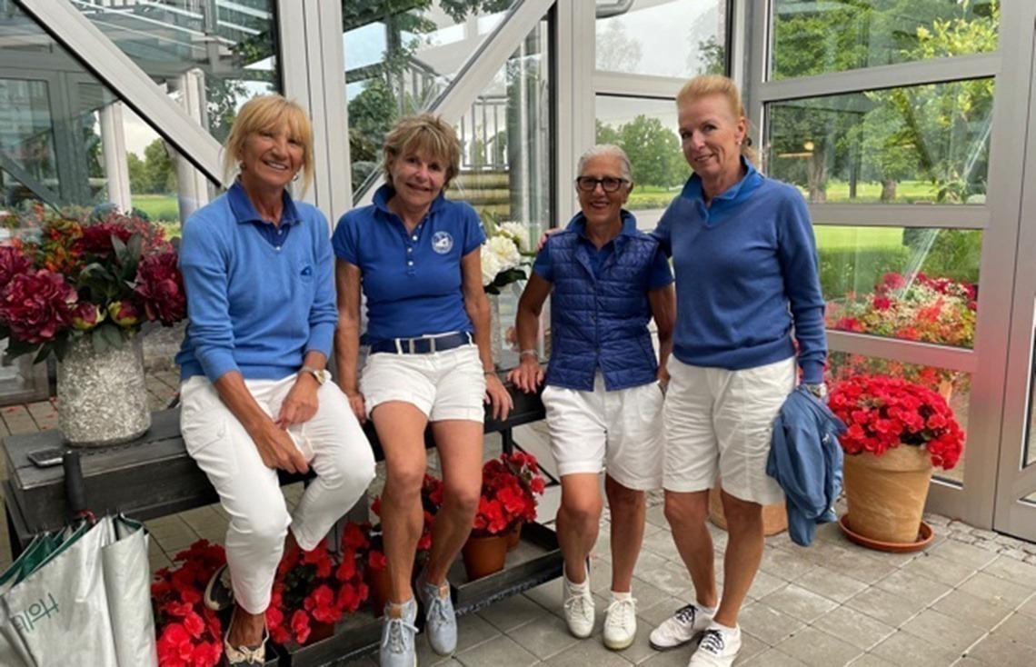 Damen AK 65: Wetter-Achterbahn – 1. Platz verteidigt