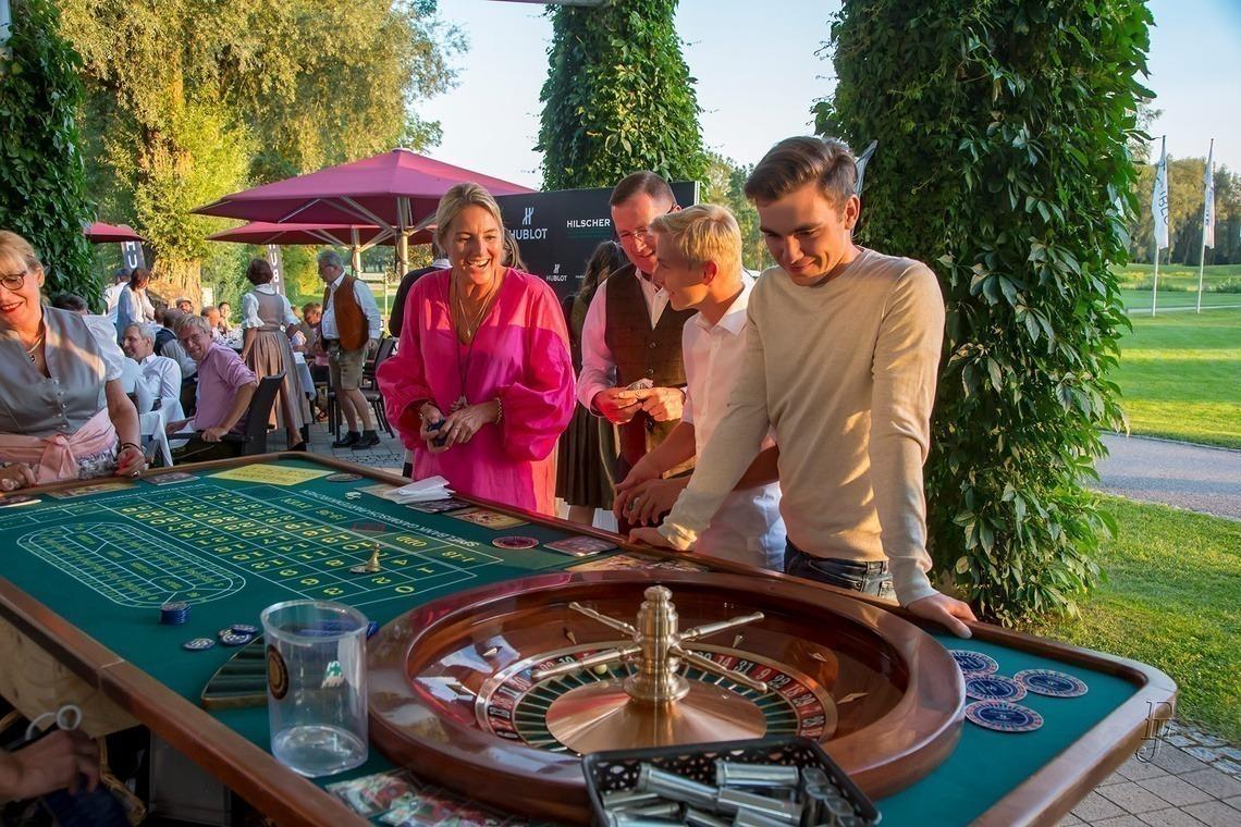 Charity Roulette der Spielbank Garmisch-Partenkirchen