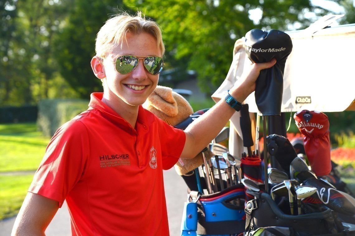 Erst in der zweiten Runde zurückgefallen: Moritz Stienen mit seinem Partner Philipp Buchner. Foto: Joe Petrus