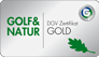Golf & Natur - DGV Zertfikat Gold